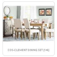 COS-CLEMENT DINING SET (1+6)